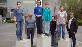 Teilnehmer am Frühstudium im Schuljahr 2016/17 (Foto: Fehlner)