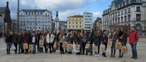 2015, beim Ausflug nach Clermont-Ferrand (Foto: Büchl)