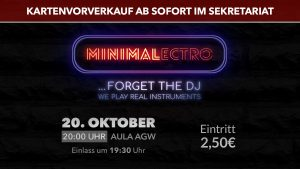 Minimalectro … FORGET THE DJ