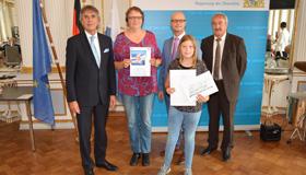 Preisverleihung im Spiegelsaal der Regierung der Oberpfalz (Foto: Dirscherl)